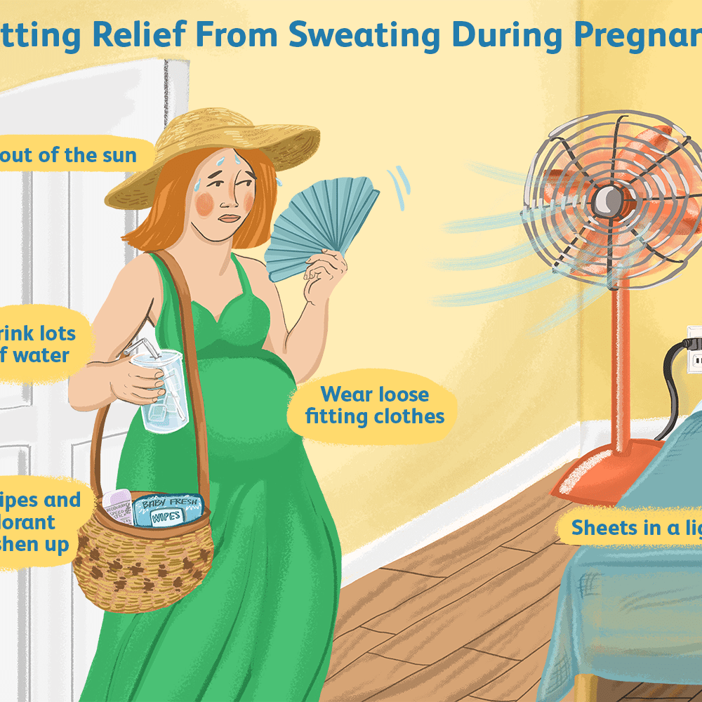 Sweating and Night Sweats in Pregnancy