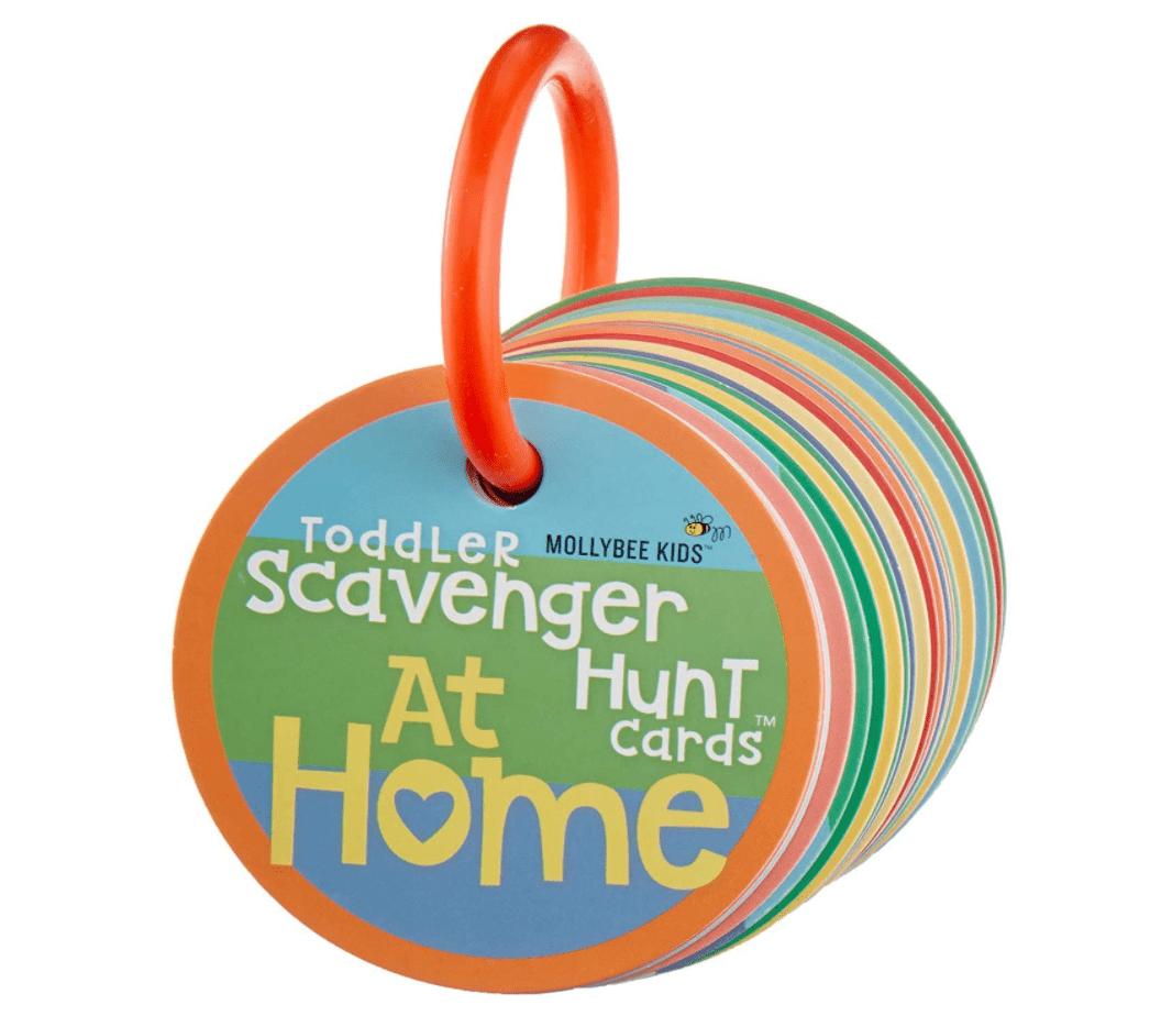 Mollybee Kids Toddler Scavenger Hunt Cooperative Game