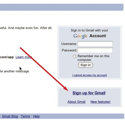 Setting Up a Gmail Account for Your Child - Step 2