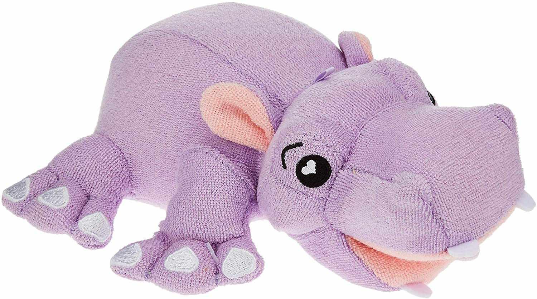 SoapSox Bath Toy Sponge, Harper the Hippo