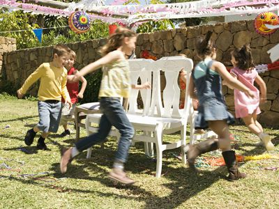 Active birthday party - musical chairs