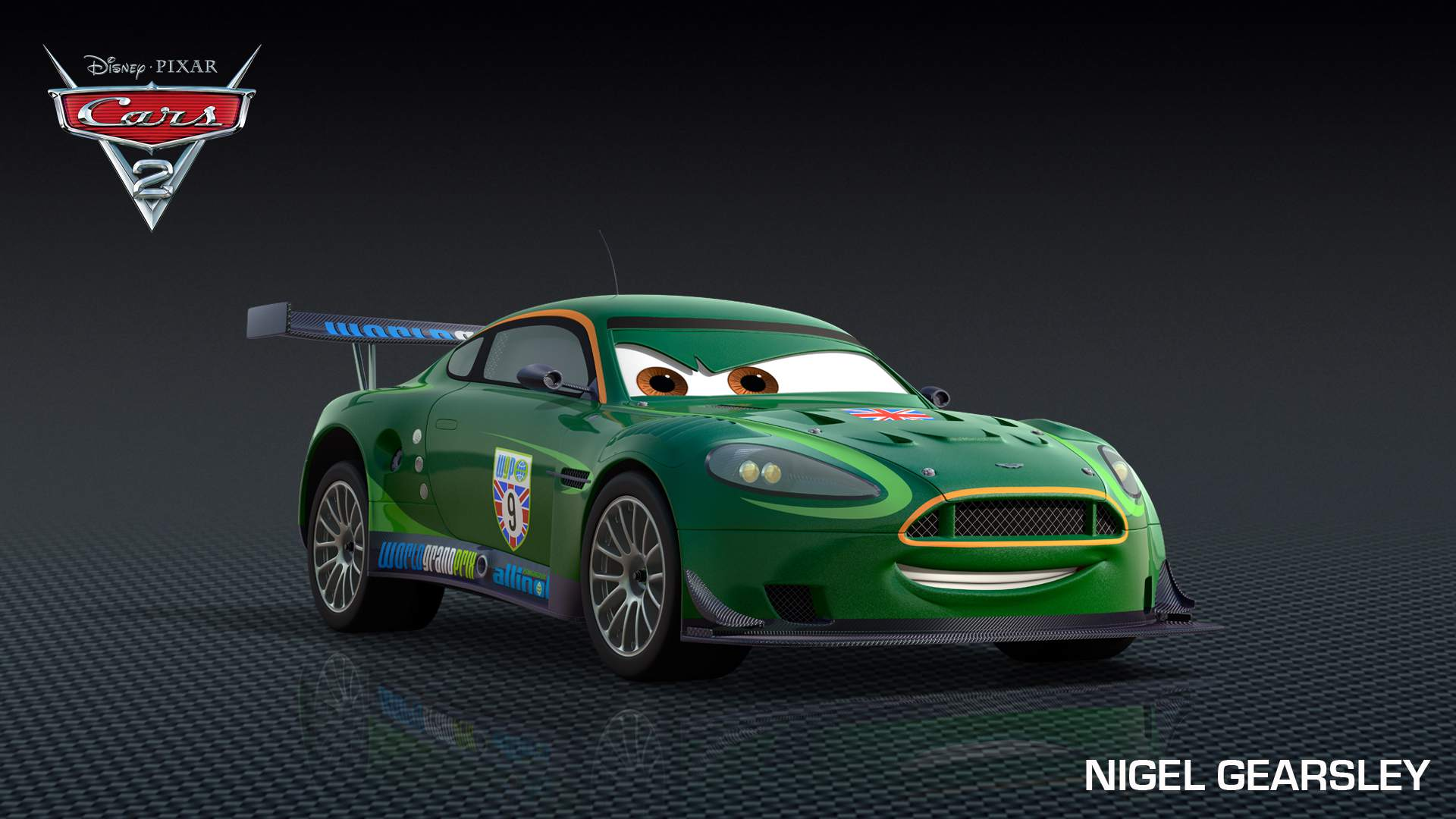 Nigel Gearsley Is A Character In The Disney Pixar Movie Cars 2