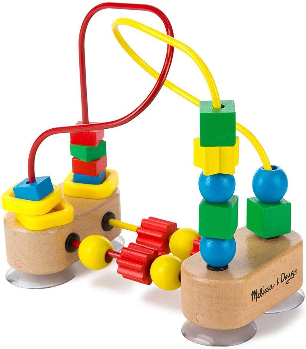 Melissa & Doug First Bead Maze Wooden Educational Toy