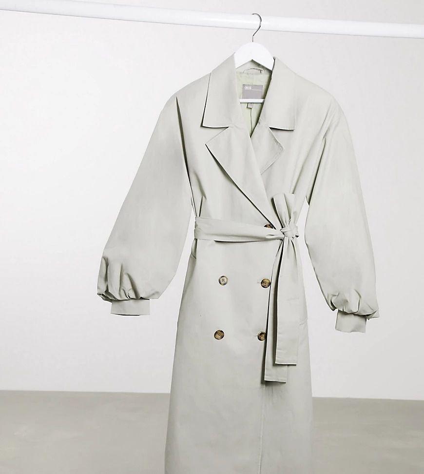 ASOS Maternity trench coat