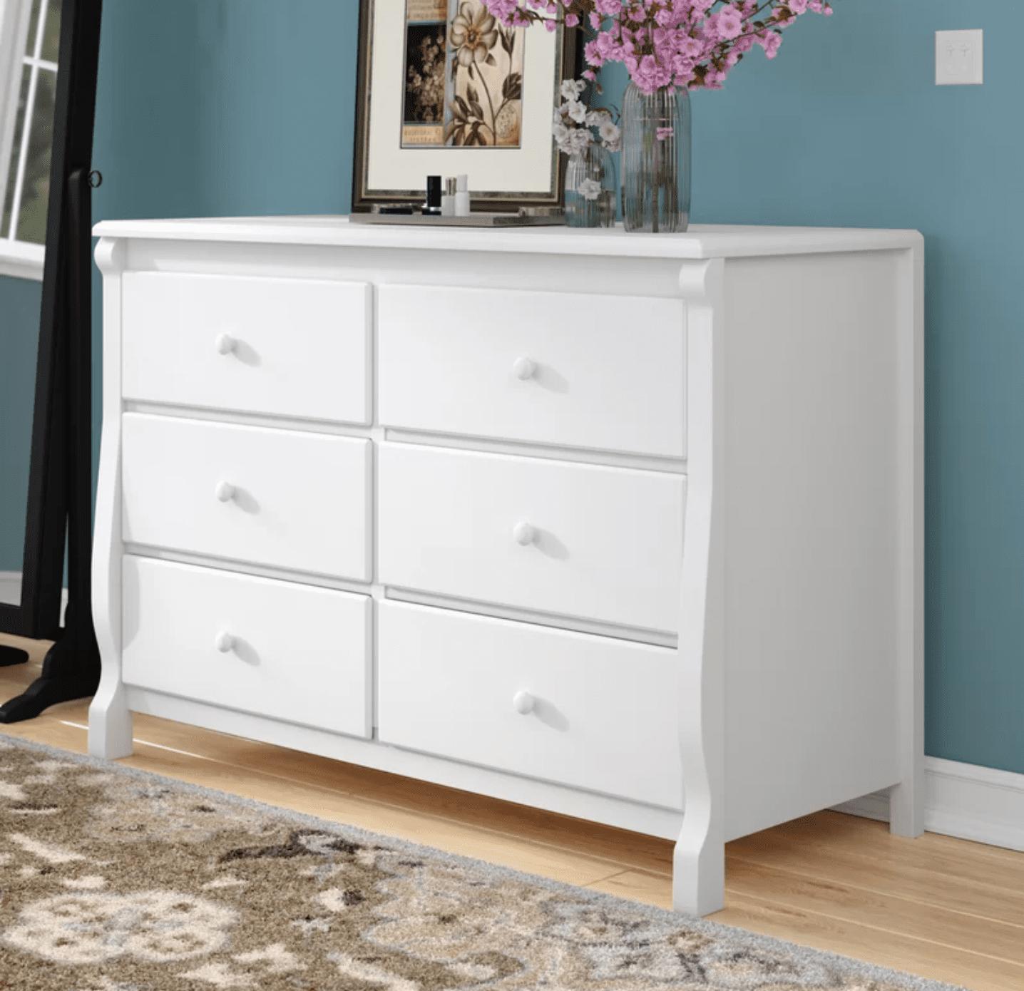 Delta Children Universal 6 Drawer Double Dresser