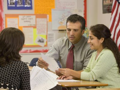 Teacher With Parents