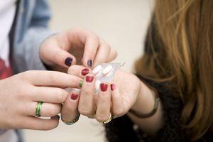 Teens passing drugs
