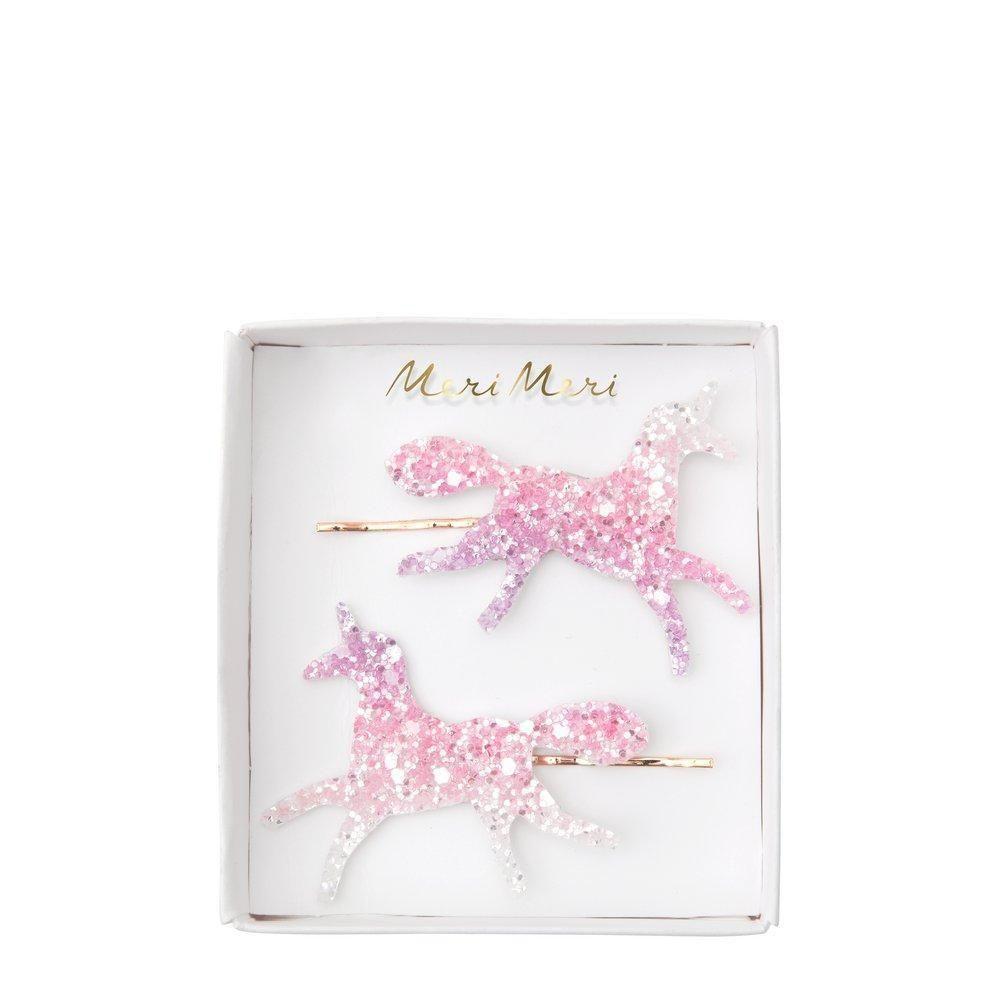 Meri Meri Unicorn Ombre Glitter Hair Slides