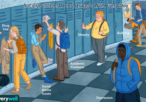 Social problems teens struggle with