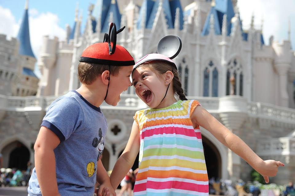 Disney PhotoPass. Kids at Disney