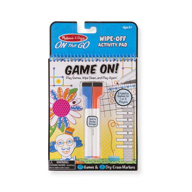 Write On Wipe Off Activity Pad