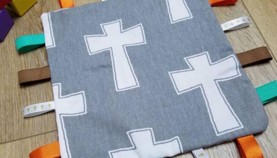Baptism Sensory Crinkle Toy