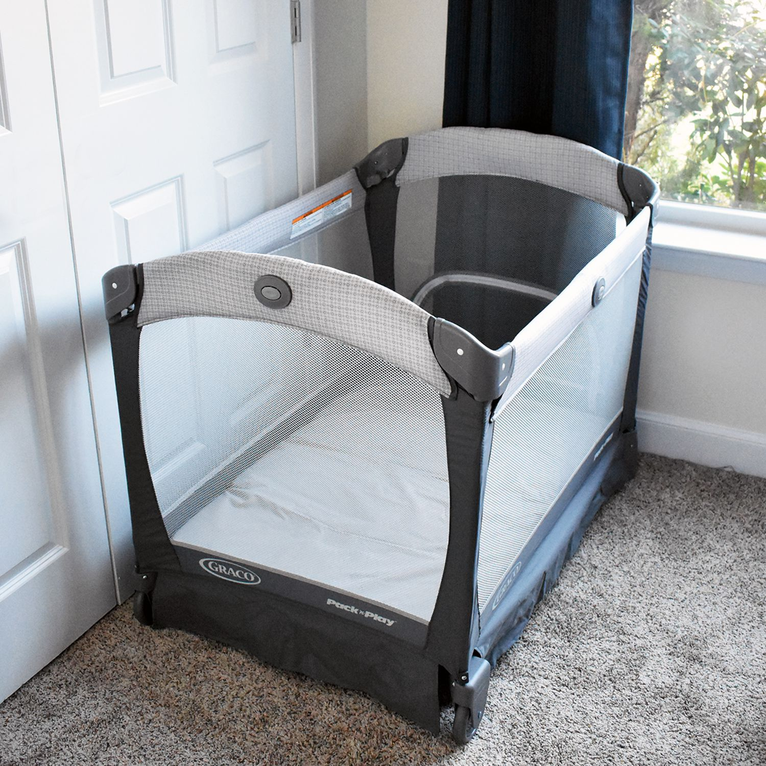 Stroller and Playpen ... Pack n Play Mosquito Net with Zippers Fits Baby Crib