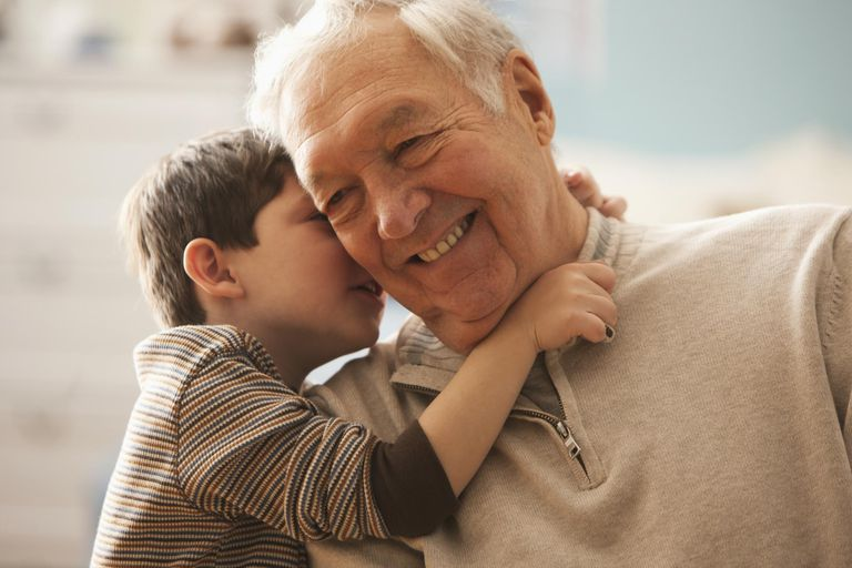 Many grandparents enjoy grandparent names created by grandchildren