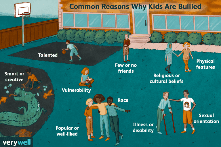 Reasons kids are bullied