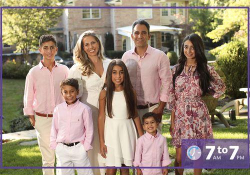 Debi Yadegari and her family