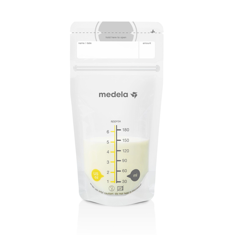Medela Breast Milk Storage Bags, 100 Count Ready to Use Milk Storage Bags for Breastfeeding