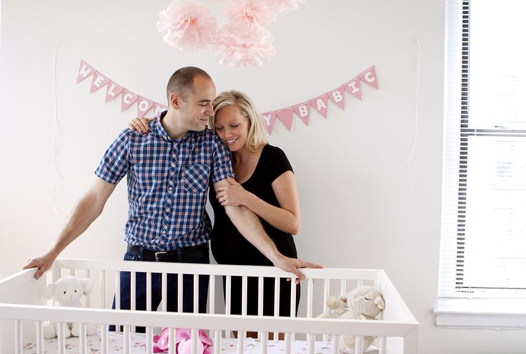 Parents to Be in Nursery