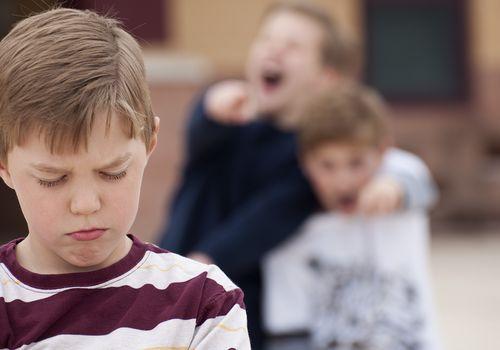 bullying boys elementary school age kids