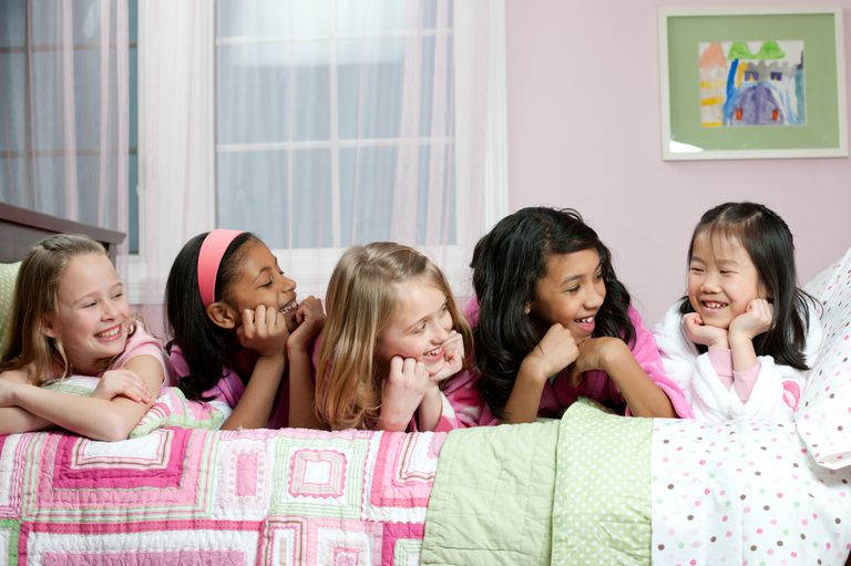 Sleepover anxiety is normal.