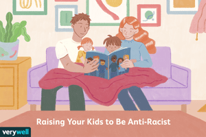 Reading antiracism books to your children