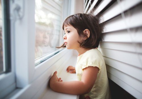 window blinds, toddlers