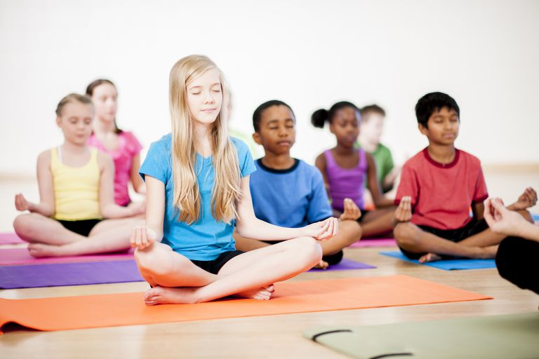 Mindfulness programs teach kids to regulate their emotions.