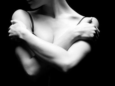 Hands and shoulders