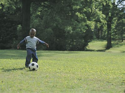 Games to play alone - soccer footwork