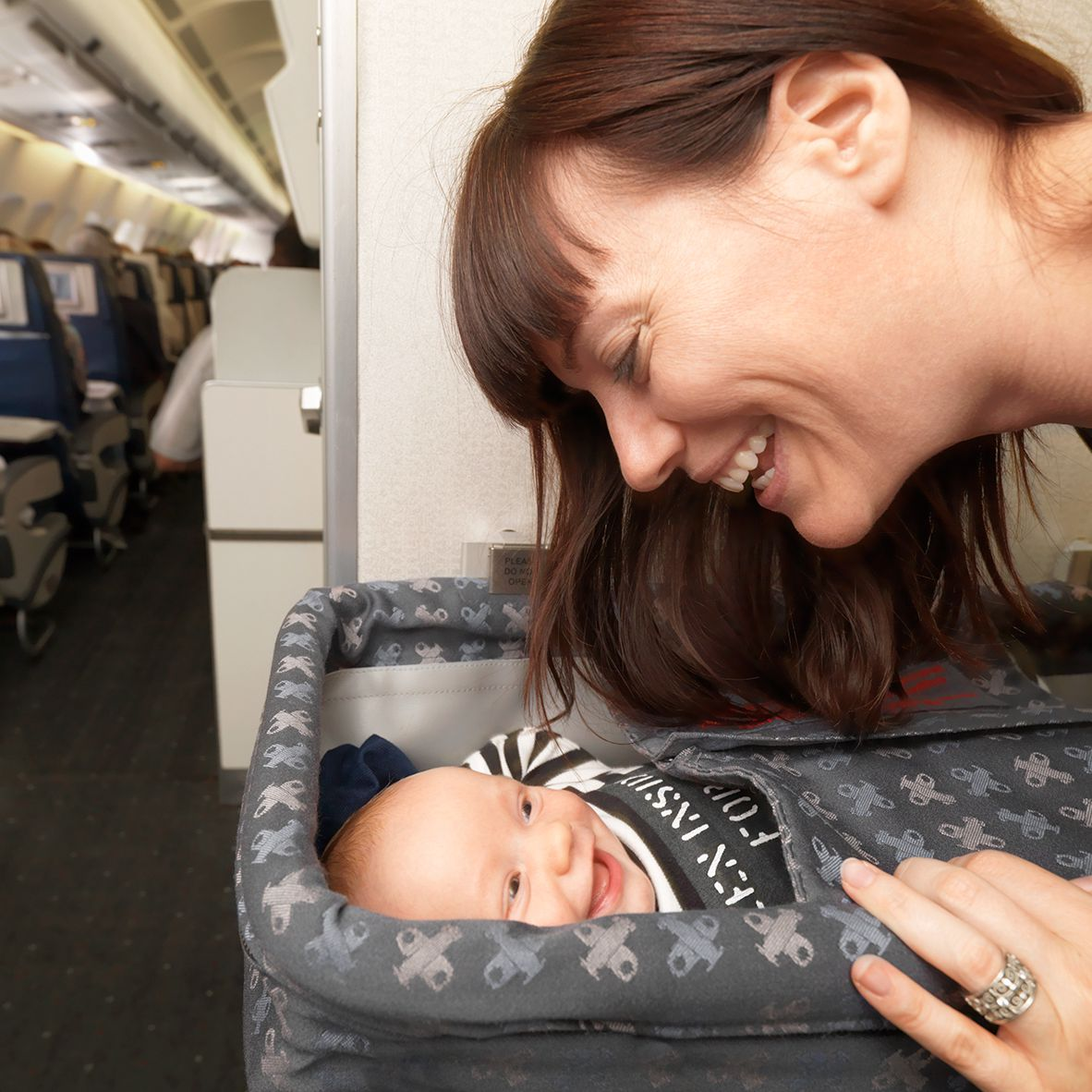 Tips And Advice For Airplane Travel With A Baby