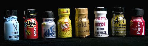 """A sexual """"enhancer"""" Amyl Nitrate Poppers"""