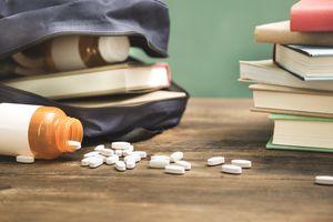 Prescription drug abuse, addiction in school setting.