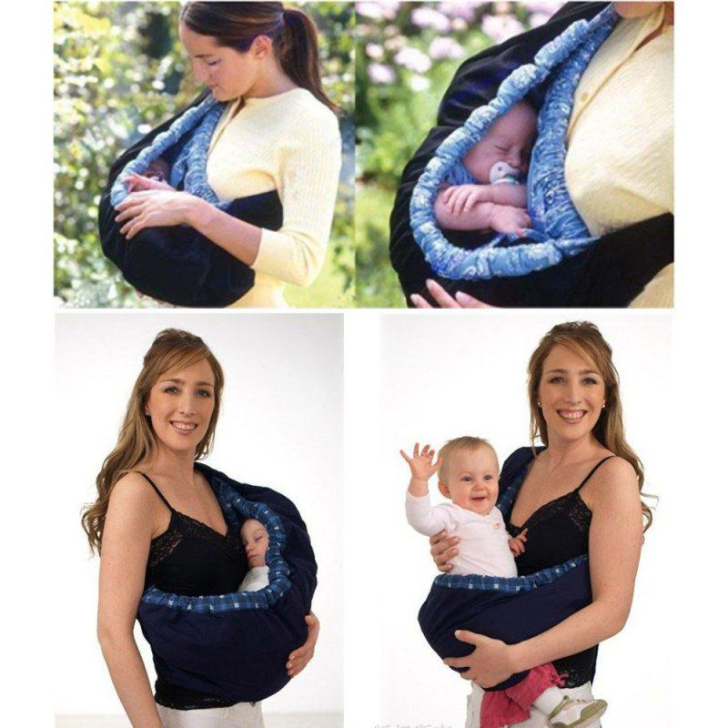 Wisremt Newborn Baby Carrier Sling Wrap