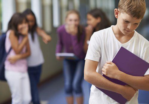 boy being bullied by classworks