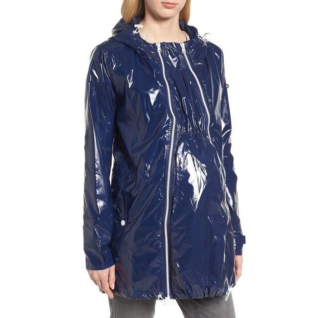 maternity raincoat