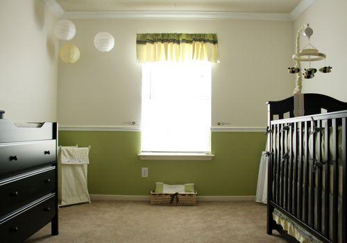 empty baby nursery