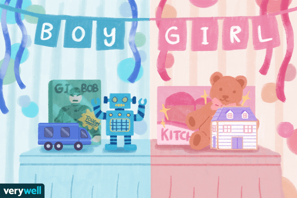 gender reveal party illo