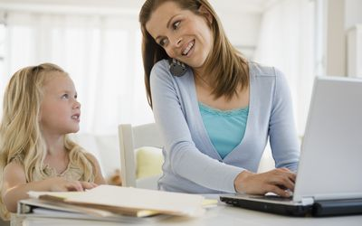 With some time management tips, parents can feel less stressed and get more done.