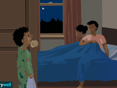 Toddler can't sleep