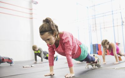 Kids and Weightlifting or Strength Training