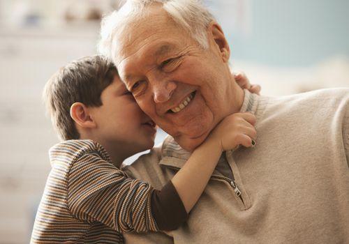 Many grandparents enjoy grandparent names created by grandchildren