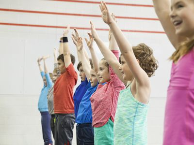 kids in gym class