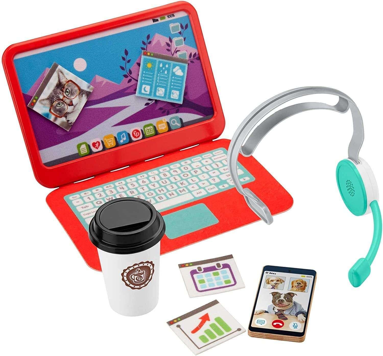 Fisher Price toy laptop