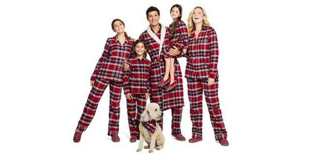 Lands' End Flannel Pajama Top