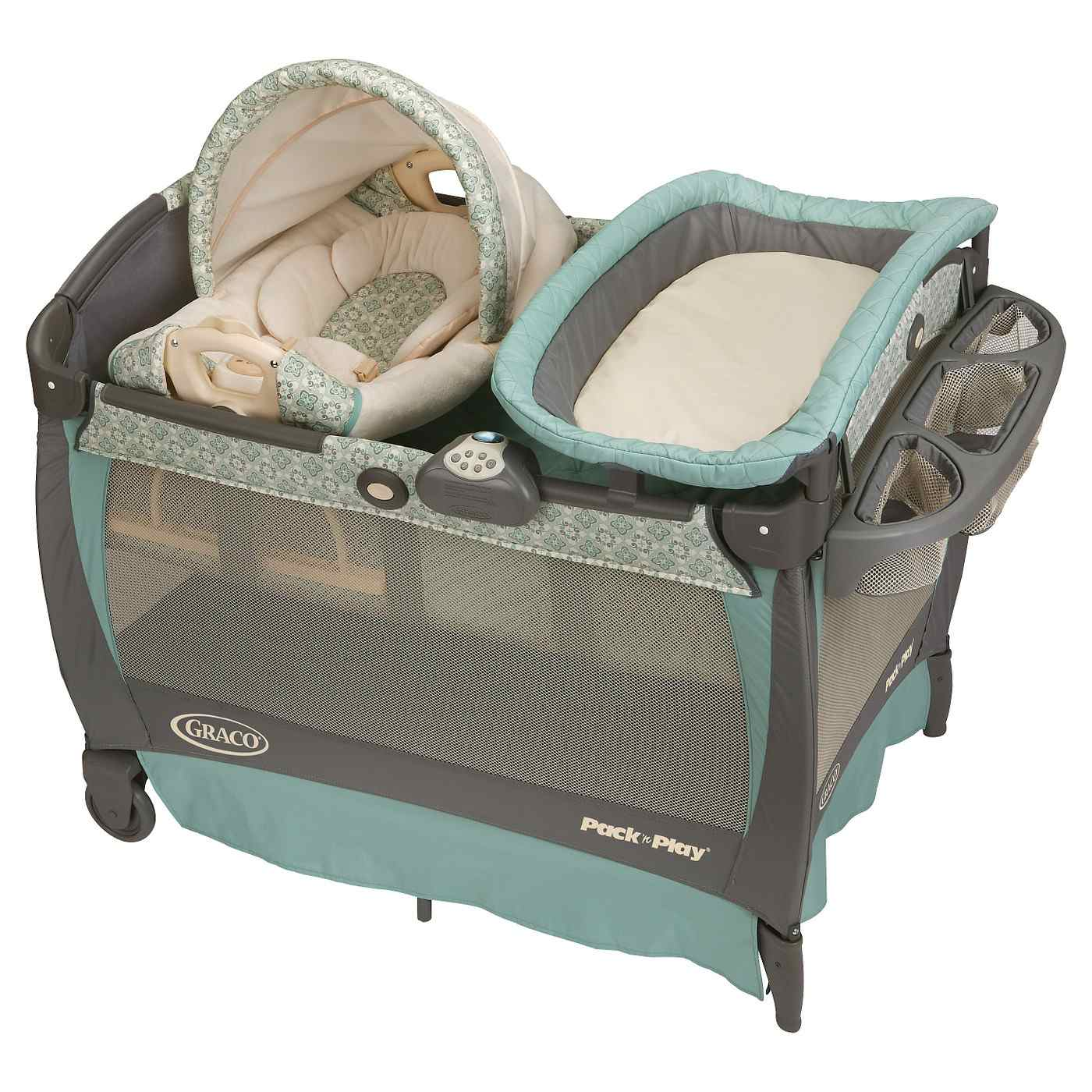 Best Overall GracoR Pack N Play With Cuddle Cove Removable Seat Changer