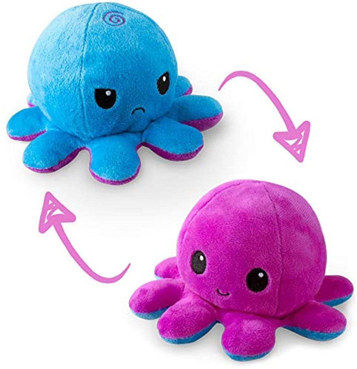 TeeTurtle The Original Reversible Octopus Plushie