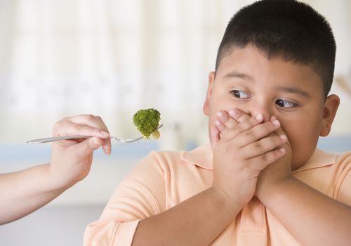 Don't try to force feed your child if he's a picky eater.