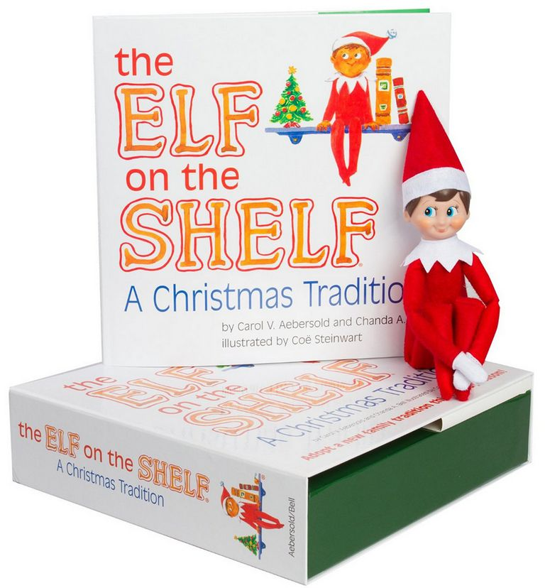 a picture of the elf on the shelf - Elf On The Shelf Christmas Tradition