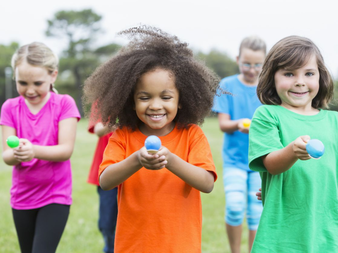 11 Indoor and Outdoor Relay Races for Kids