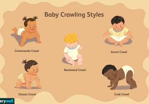 baby crawling styles